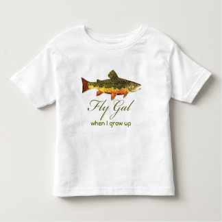 Fly Fishing Women Toddler T-shirt