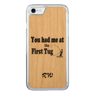 Fly fishing: You had me at the First Tug! Carved iPhone 7 Case