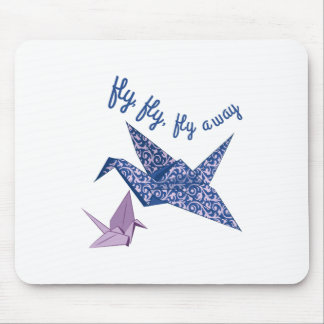 Fly Fly Fly Away Mousepad