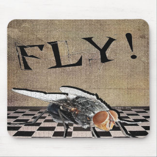 Fly Fly Fly Mouse Pads