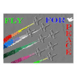 Fly for Peace Tarjetas Personales