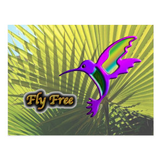 Fly Free #10 Postcard