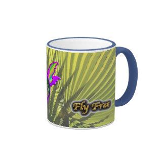 Fly Free #10 Ringer Mug