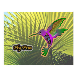 Fly Free #11 Postcard