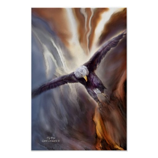 Fly Free Art Poster/Print