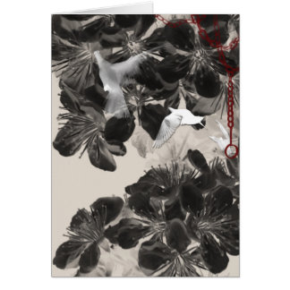 Fly Free Gothic Card