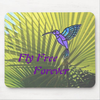 Fly Free Mouse Pad