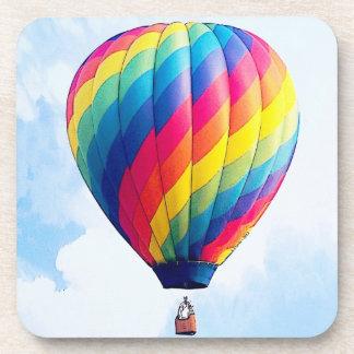 Fly Free My Hot Air Balloon! Beverage Coaster
