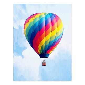 Fly Free My Hot Air Balloon! Postcard