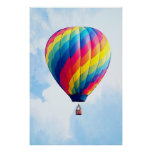 Fly Free My Hot Air Balloon! Poster