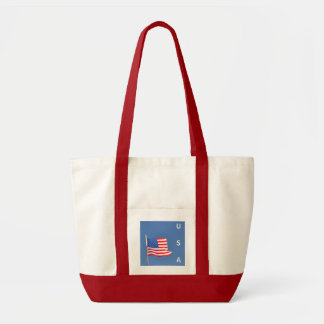 Fly Free USA Flag - bag