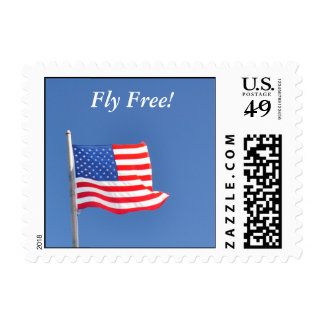 Fly Free USA (small) - postage stamps