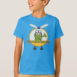 Fly Froggie Fly - Helicopter T-Shirt