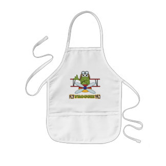 Fly Froggie Fly Tshirts and Gifts Kids' Apron