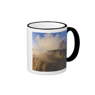 Fly Geyser with snow capped Granite Range 2 Coffee Mug