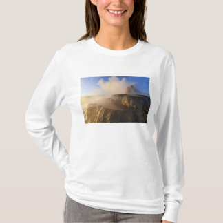 Fly Geyser with snow capped Granite Range 2 T-Shirt