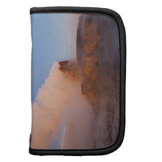 Fly Geyser with snow capped Granite Range 3 Folio Planner