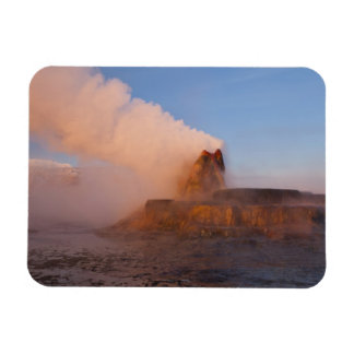 Fly Geyser with snow capped Granite Range 3 Magnet
