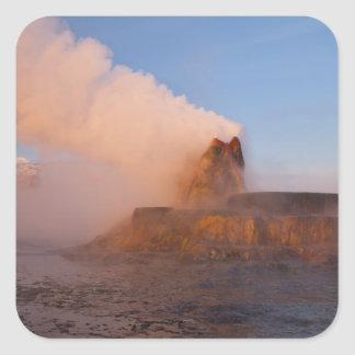 Fly Geyser with snow capped Granite Range 3 Sticker