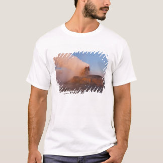Fly Geyser with snow capped Granite Range 3 T-Shirt