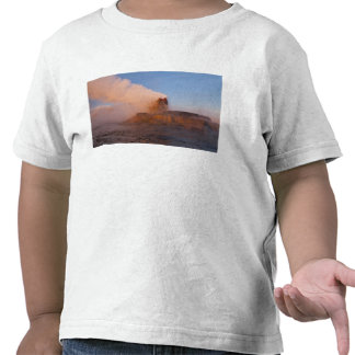 Fly Geyser with snow capped Granite Range 3 Tee Shirt