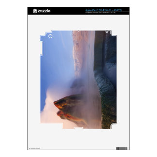 Fly Geyser with snow capped Granite Range Skin For iPad 3