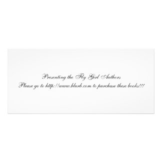 fly girl book maker custom rack card