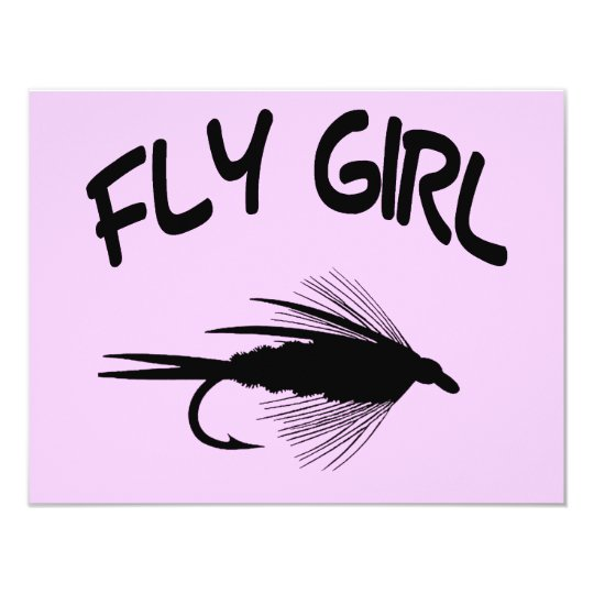 FLY GIRL CARD