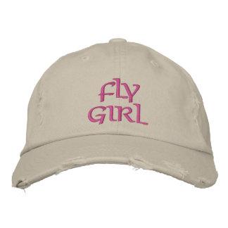 FLY GIRL FLY FISHING BASEBALL CAP