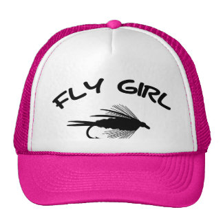 FLY GIRL FLY FISHING MESH HAT