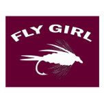 FLY GIRL POST CARDS