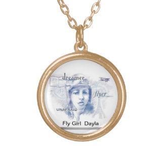 Fly Girls Bessie Coleman necklace
