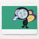 Fly graphic cartoon mousepads