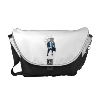 Fly Guy is on the move Messenger Bag