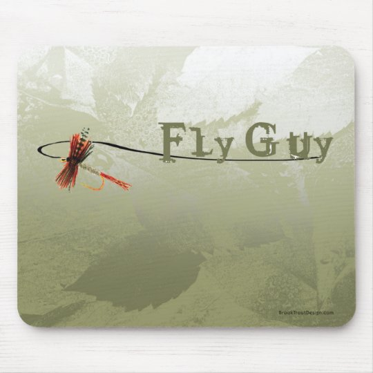 Fly Guy Mouse Pad