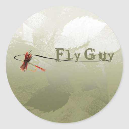 Fly Guy Stickers