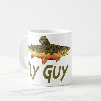 Fly Guy, Trout Fishing Coffee Mug