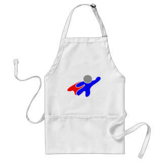 Fly high adult apron