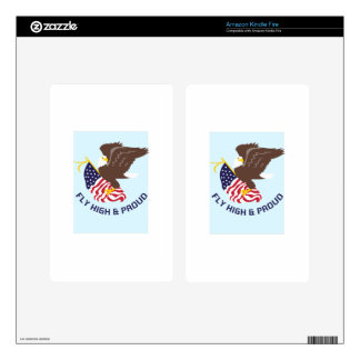 FLY HIGH AND PROUD SKINS FOR KINDLE FIRE