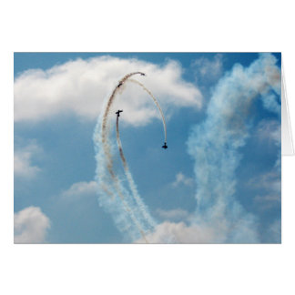Fly High Blue Sky Series 2 Note Card