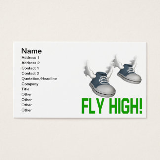Fly High Business Card