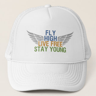 FLY HIGH custom hat – choose color