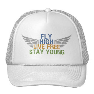 FLY HIGH custom hat – choose color