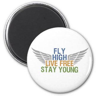 FLY HIGH custom magnet