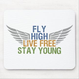 FLY HIGH custom mousepad