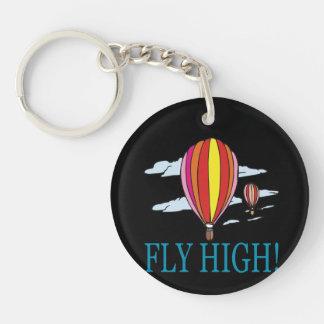 Fly High Keychain