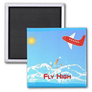 Fly High Fridge Magnets