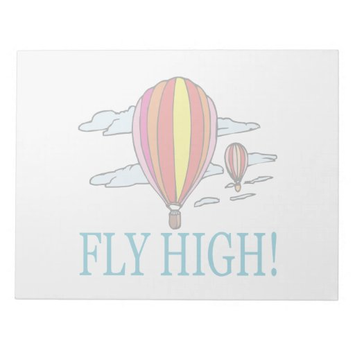 Fly High Memo Note Pads