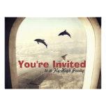 Fly High Party Birthday Invitation