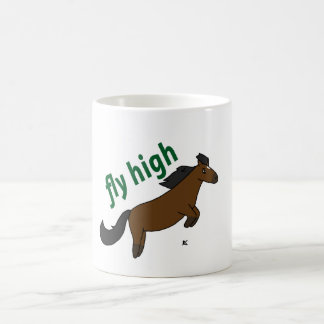 Fly High Pony Bay Pony Coffee Mug